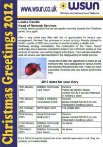 Winter 2012 Newsflyer