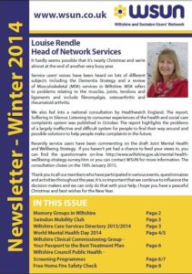 Winter Newsletter 2014