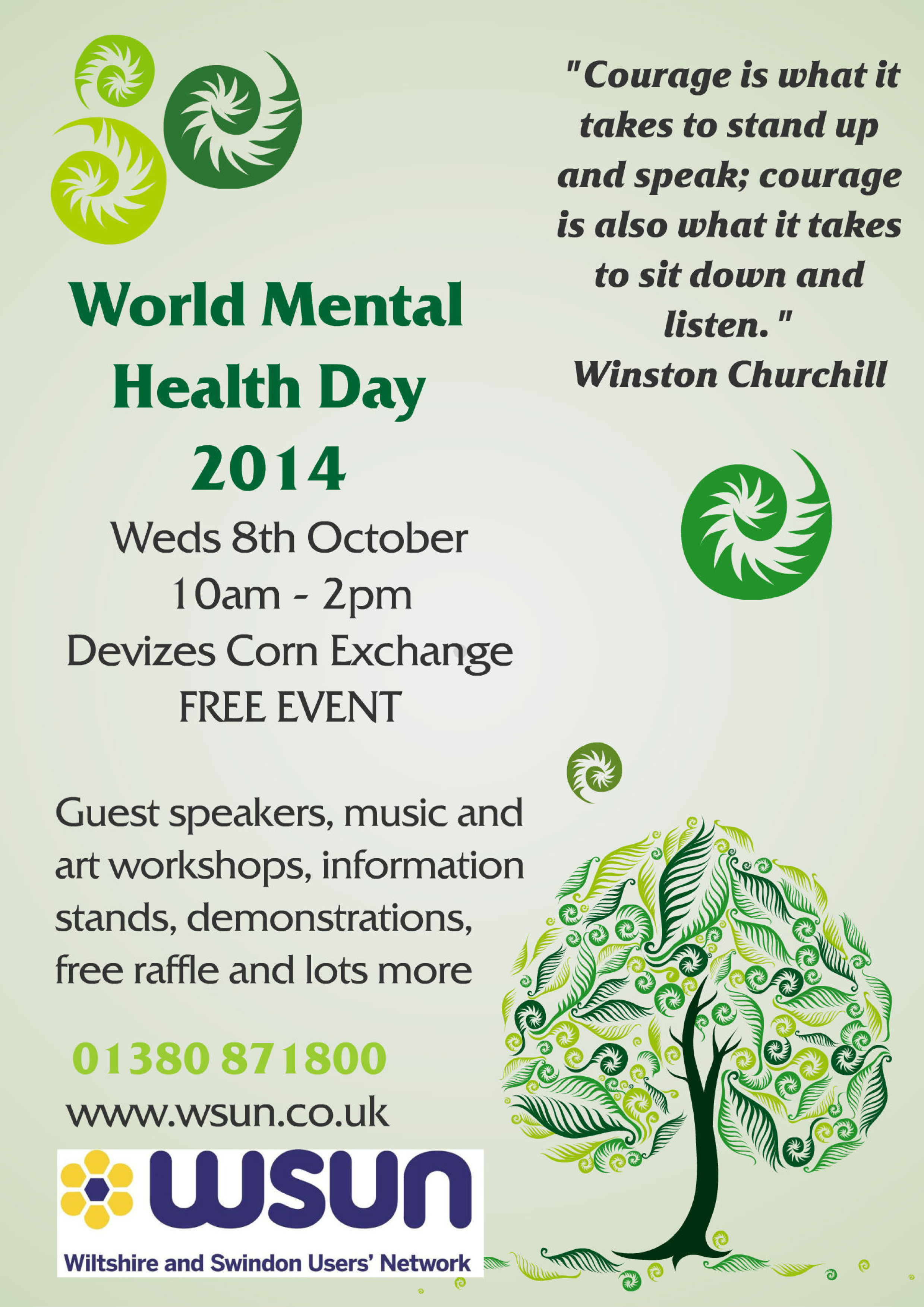 World Mental Health Day By Admin